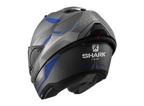 Shark  Evo-Es Yari Mat ABS antraciet-blauw-zilver