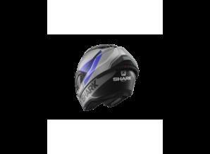 Shark  Evo-GT Encke Mat ABK Antraciet-Blauw-Zwart Systeemhelm
