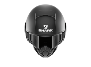 Shark Street Drak Blank Mat Motorhelm