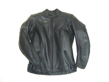 MJK Leathers Simply Black Dames Motorjas