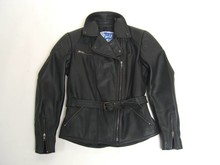 MJK Leathers Classic Dames Bikerjack