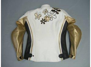 MJK Leathers Tarmac Leren Dames Motorjack