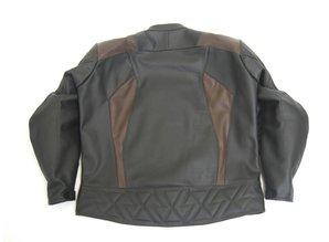 MJK Leathers Black Carbon Cota Leren Motorjack