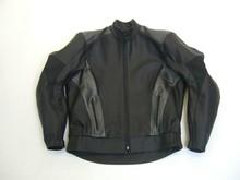 MJK Leathers Mirage zwart/metallic