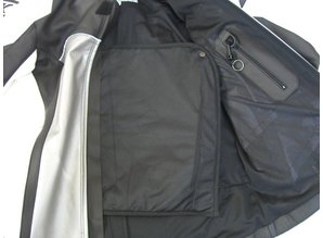 MJK Leathers Mirage zwart/bruin Leren Motorjack