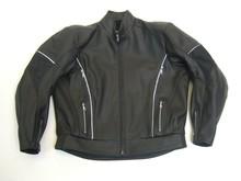 MJK Leathers Mirage All Black Motorjack