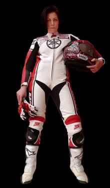 MJK Leathers Tarmac Raceoverall Dames
