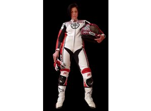MJK Leathers Tarmac Annelies Leren Dames Motoroverall