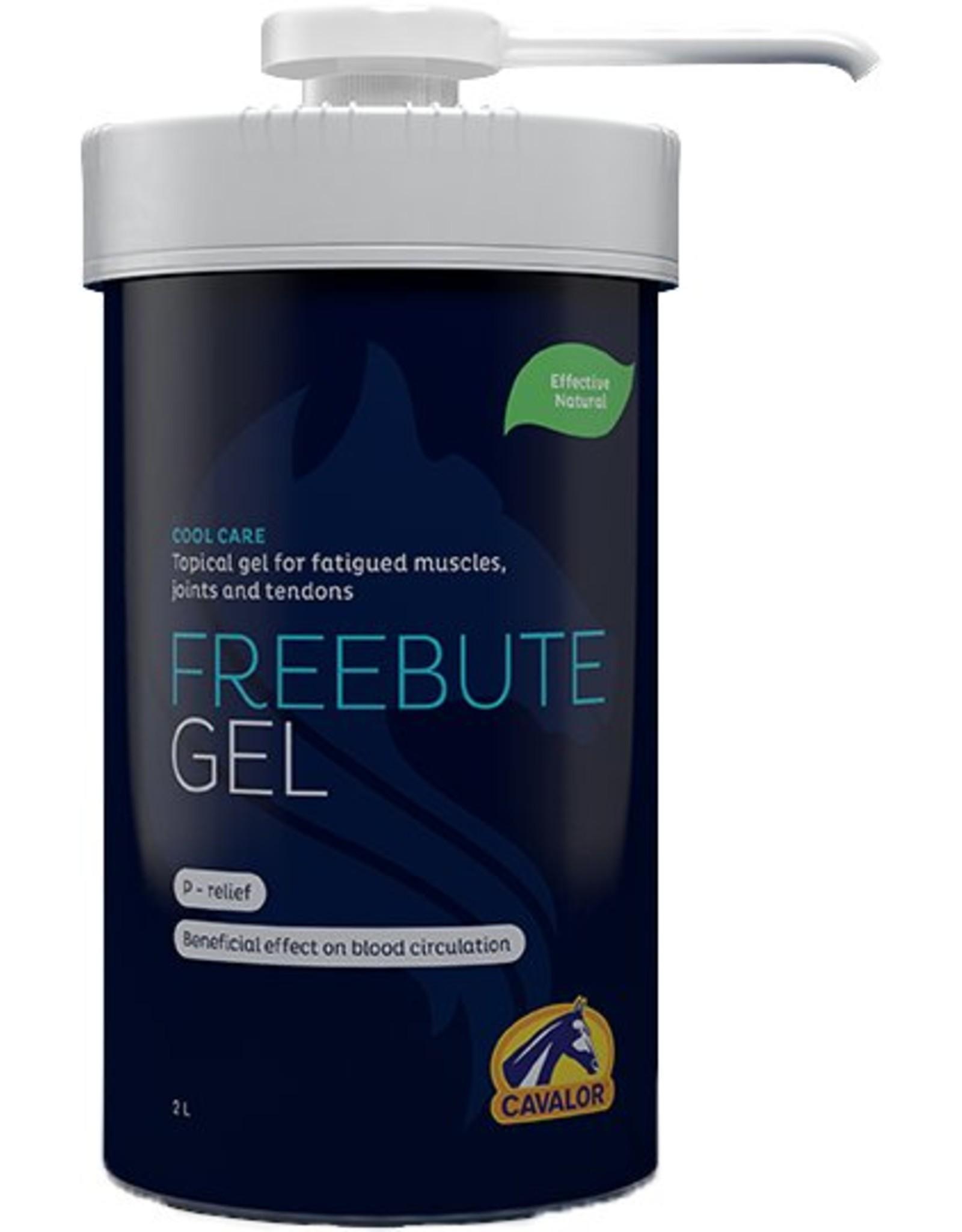 Cavalor Cavalor  FreeBute gel 2 L + pomp
