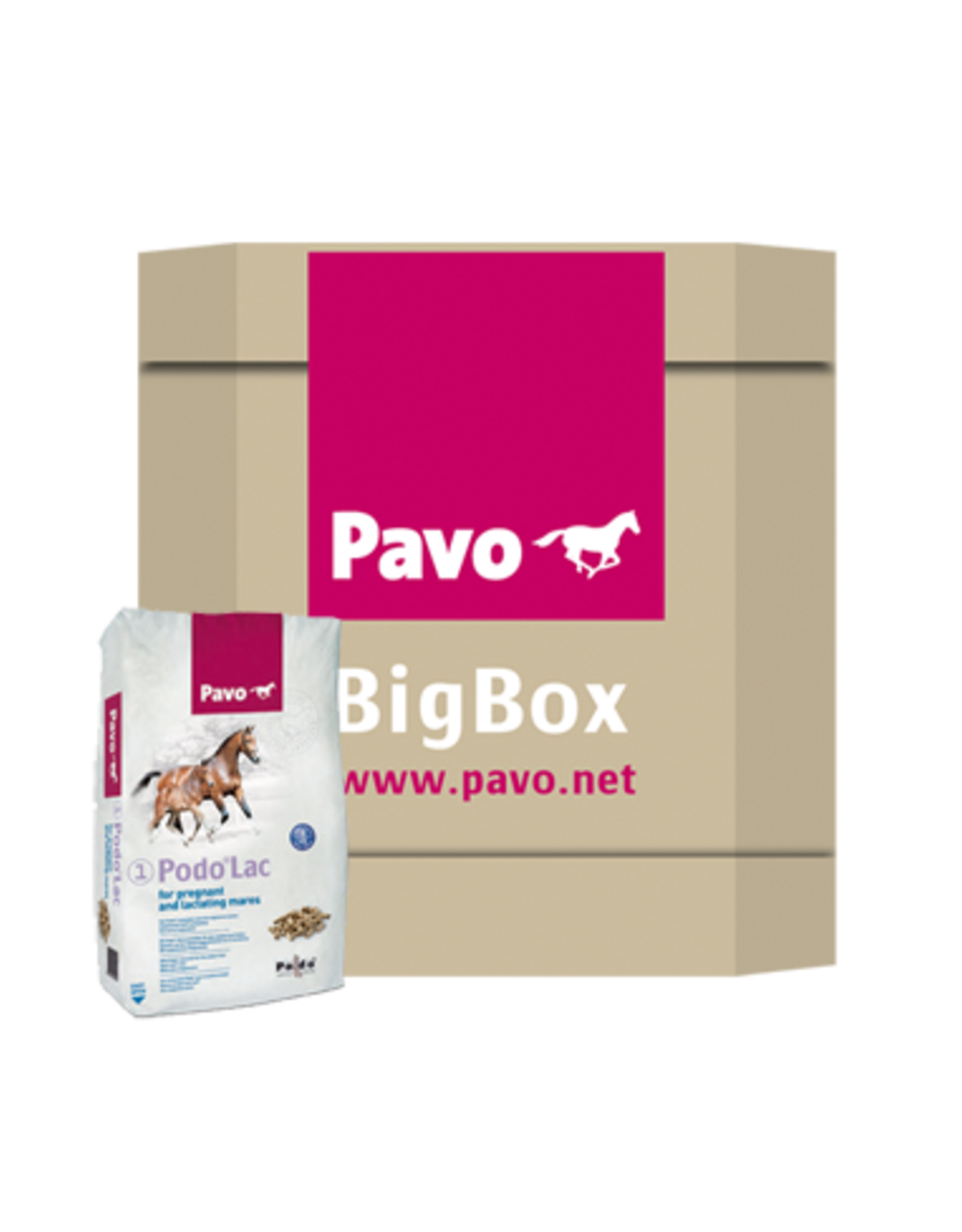 Pavo Pavo Podo®Lac - Big Box 725 kg