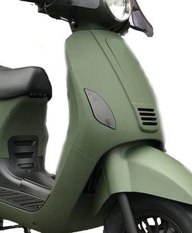 Set getinte scooterlampen