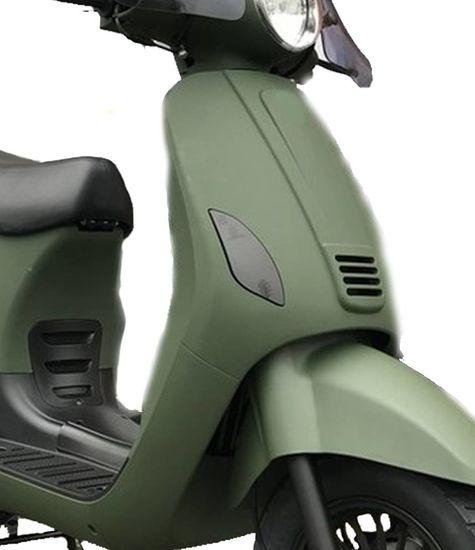 Volledige set scooterlampen getint