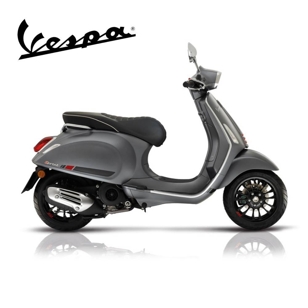 Vespa Vespa Sprint Sport scooter Titanium Grijs