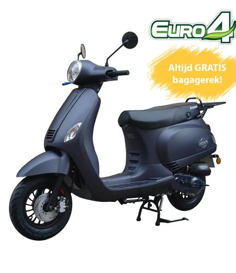 Leopard Leopard Forza Scooter | Antraciet Grijs