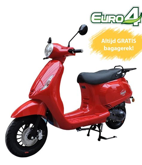 Leopard Leopard Forza Scooter   Rood LUX