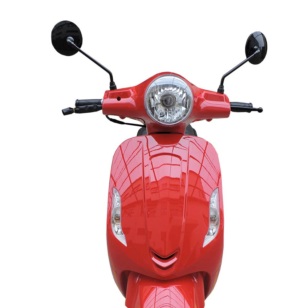 Leopard Leopard Forza Scooter | Rood