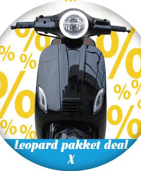 Leopard Pakket deal X | Zwart