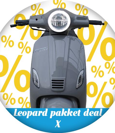 Leopard Leopard Scooter Pakket deal X | Nardo grey