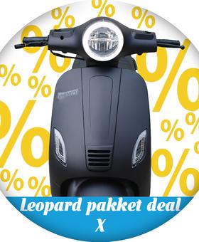 Leopard Pakket deal X | Matzwart