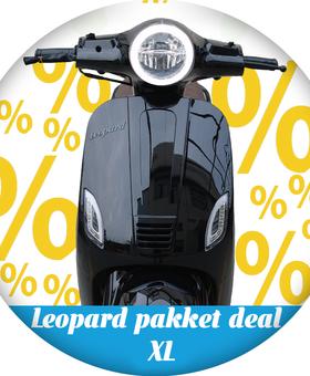Leopard Leopard | pakket deal XL - Zwart