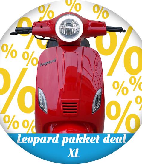 Leopard Leopard | pakket deal XL - Rood