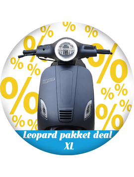 Leopard Leopard   pakket deal XL - Antraciet grijs