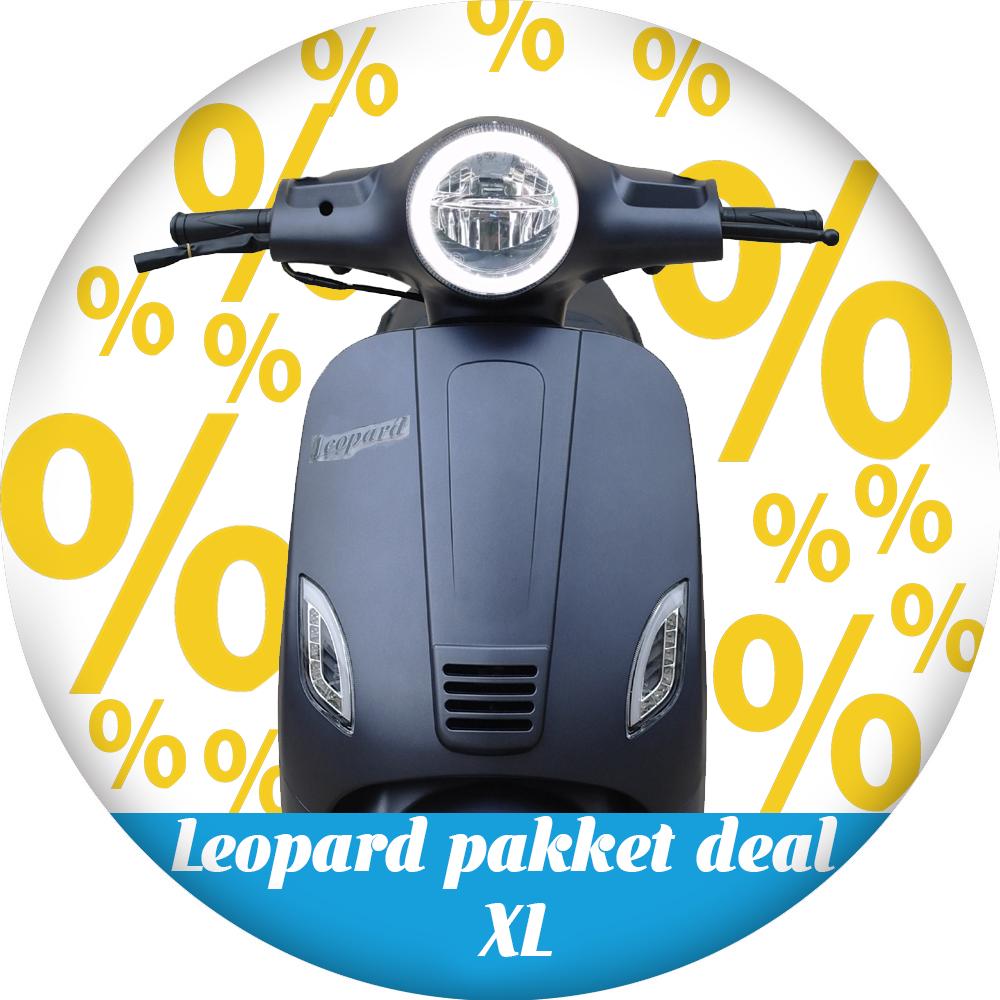 Leopard Leopard | pakket deal XL - Antraciet grijs