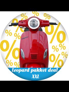 Leopard Leopard   pakket deal XXL - Rood