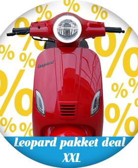 Leopard Leopard | pakket deal XXL - Rood