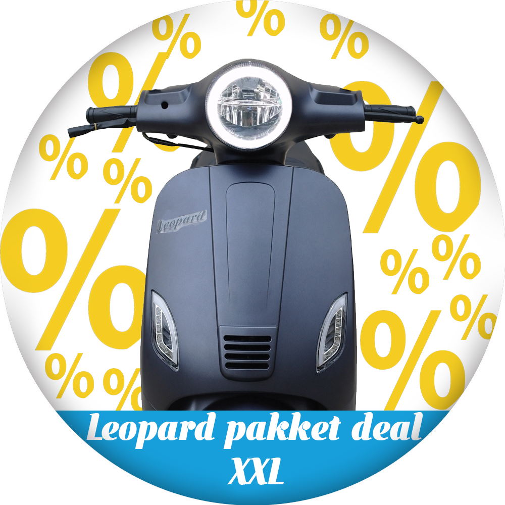 Leopard Leopard | pakket deal XXL - Antraciet grijs