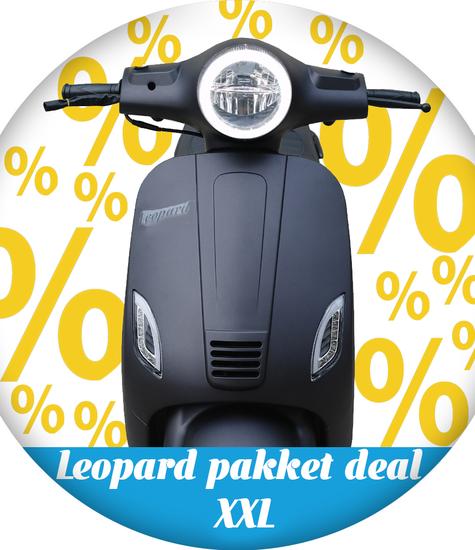 Leopard Leopard | pakket deal XXL -  Matzwart