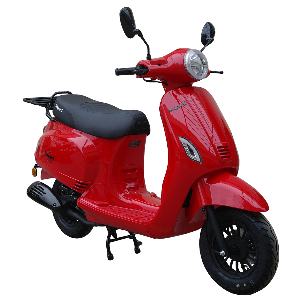 Leopard Leopard Forza Scooter | rood LED