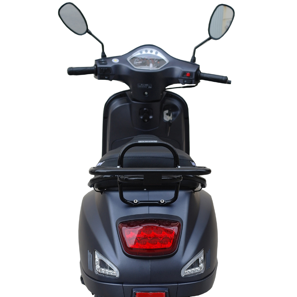 Leopard Leopard Forza Scooter | antraciet grijs LED