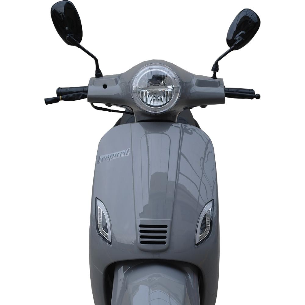 Leopard Leopard Forza Scooter | Nardo grey LED