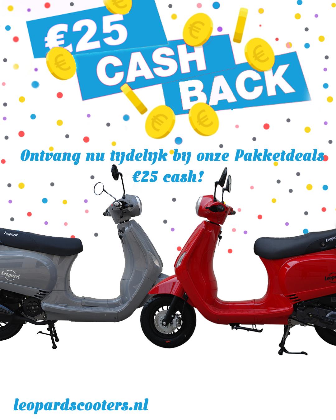€25 Cashback!