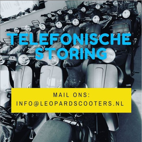 Telefoon storing!