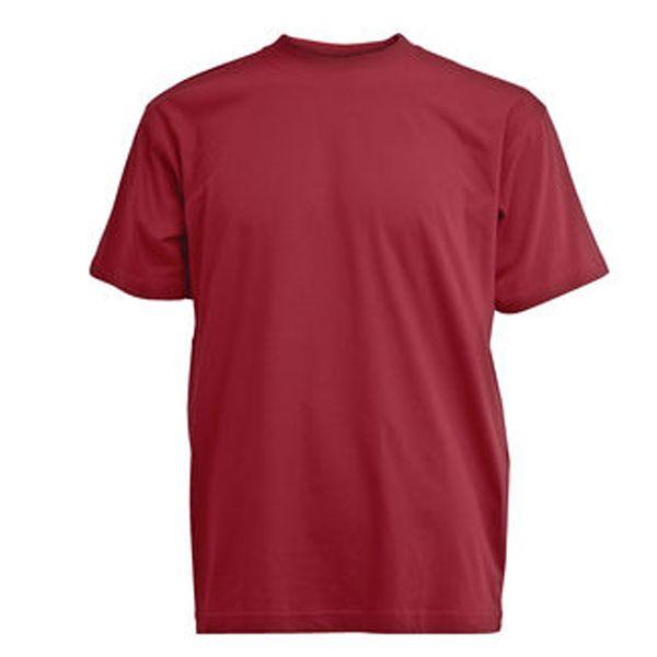 CAMUS 8000 Grote maten Bordeauxrood T-shirt