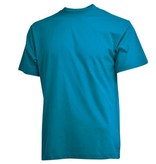 CAMUS 2230 Grote maten Turquoise T-shirt