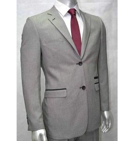 V&H Suits 200 Grote maten Licht Grijs Kostuum