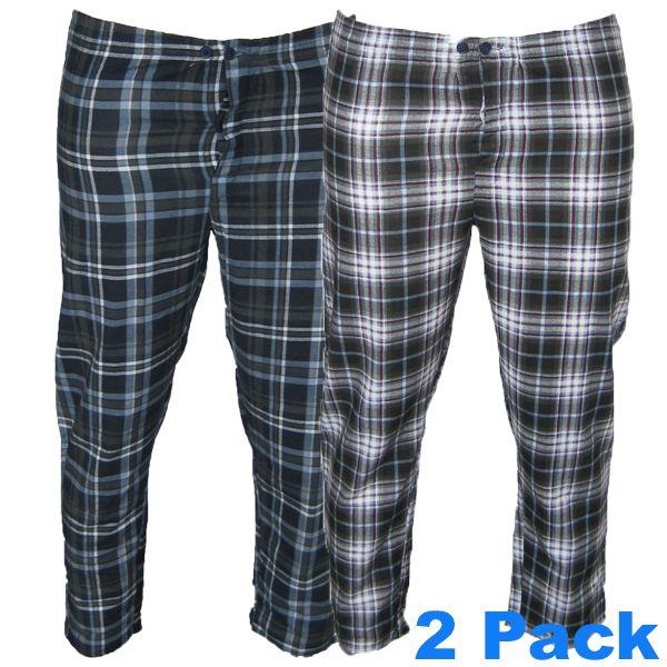 08563 Grote maten Pyjama Broek (2 pack)