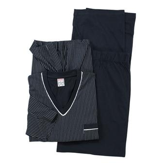 eefbaf923d6 Blauwe grote maten heren pyjama