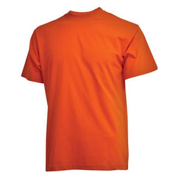 CAMUS 7000 Grote maten Oranje T-shirt