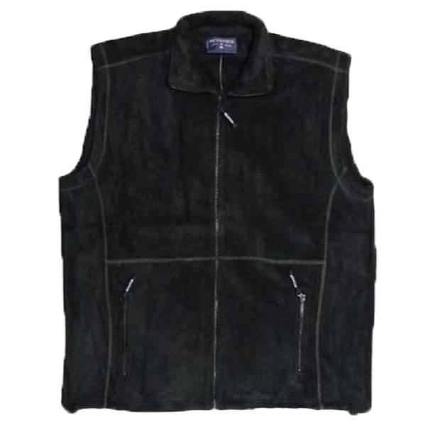 Kingsize Brand 1552 Grote maten Zwarte Fleece Bodywarmer
