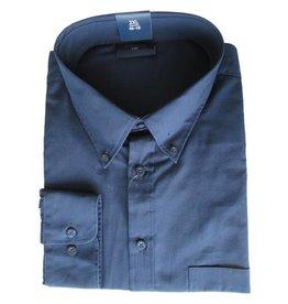 Kingsize Brand LS610 Grote maten Navy Blue Overhemd (lange mouw)