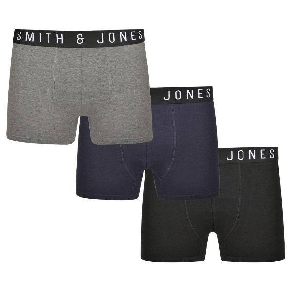 "U9003 Grote maten Boxer Shorts (3-pack) ""ESSENTIAL"""