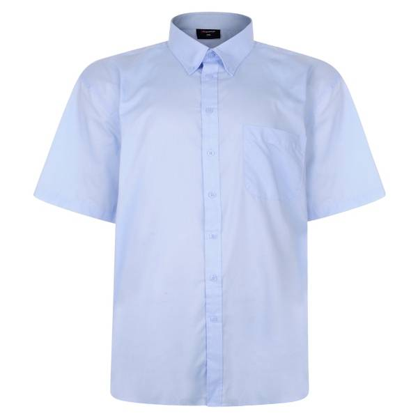 Lichtblauw Overhemd.Ss500 Licht Blauwe Grote Maten Overhemd Korte Mouw Grote Maten