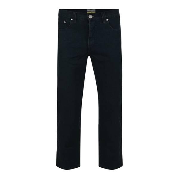 KAM 1001 Grote maten Zwarte Stretch Jeans
