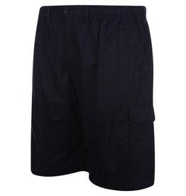 Kingsize Brand ST042 Zwart - Grote maten heren Cargo Short