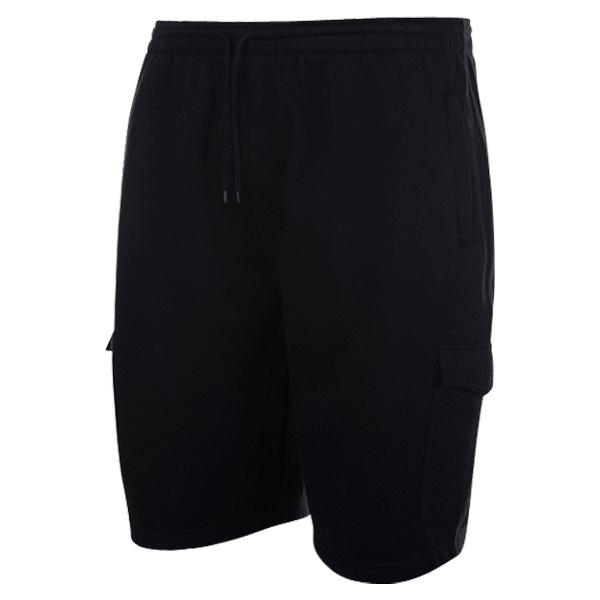 Kingsize Brand LW001 Grote maten Zwarte Joggingshorts