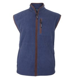 Kingsize Brand 1750 Grote maten Navy Fleece Bodywarmer